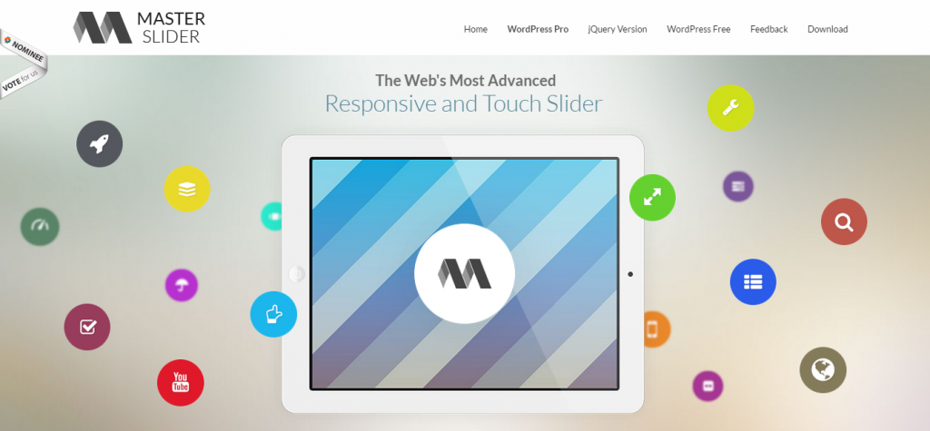 Master Slider WordPress Responsive Touch Slider