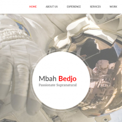 Mbah Bedjo CV Resume Muse Template