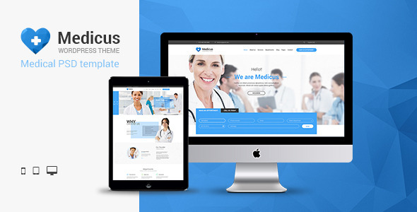 Medicus Multipurpose Medical PSD Template