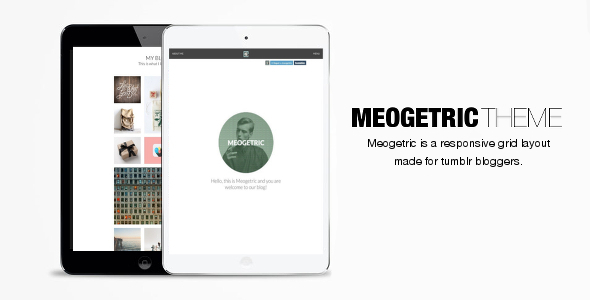 Meogetric Tumblr Responsive Theme
