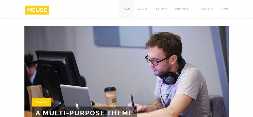 Meuse Multi-Purpose Theme powered by Jekyll