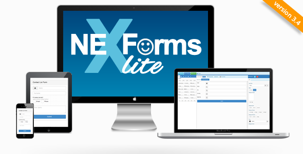 NEX-Forms Lite WordPress Form Builder Plugin