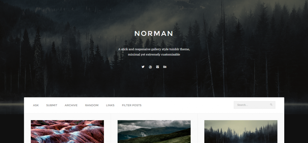 Norman Responsive Grid Theme