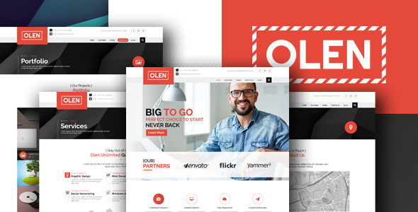 OLEN Multipurpose Corporate PSD Template
