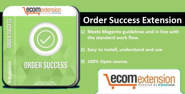 Order Success Extension