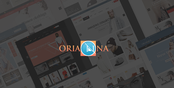 Orianna Fashion PSD Template