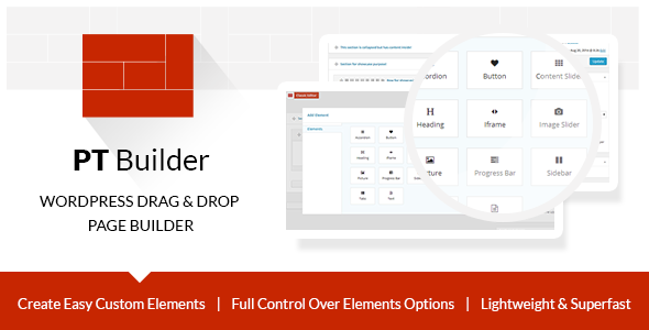 PT Builder WP Drag & Drop Page Builder