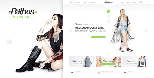 Pathos ECommerce PSD Template