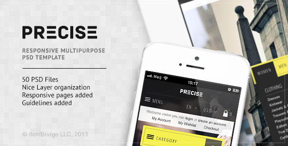 Precise Multipurpose PSD Template