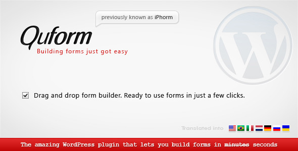 Quform WordPress Form Builder