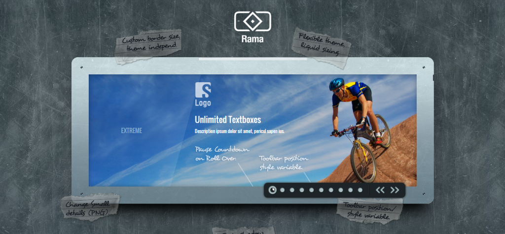 Rama The jQuery Slider Plugin