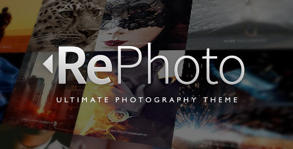 RePhoto Photography Responsive Muse Template