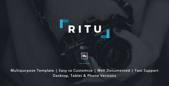 Ritu Muse Template