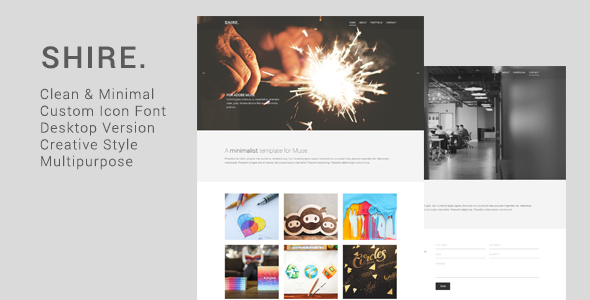 Shire Creative Muse Template
