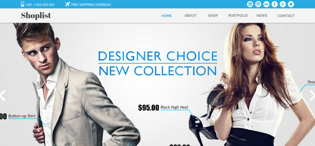 19 Best Adobe Muse eCommerce Templates | Weelii