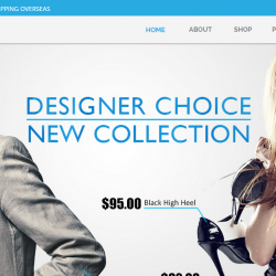 Shoplist eCommerce Muse Template
