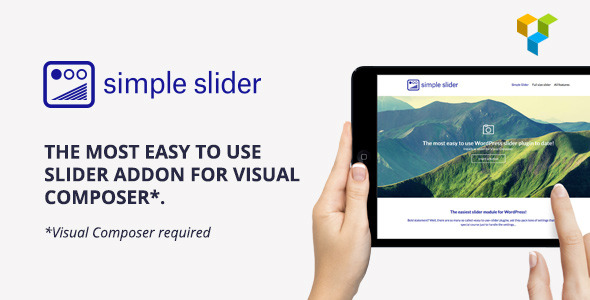 Simple Slider The easiest slider for Visual Composer