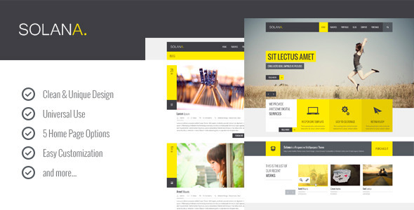 Solana Multipurpose PSD Template