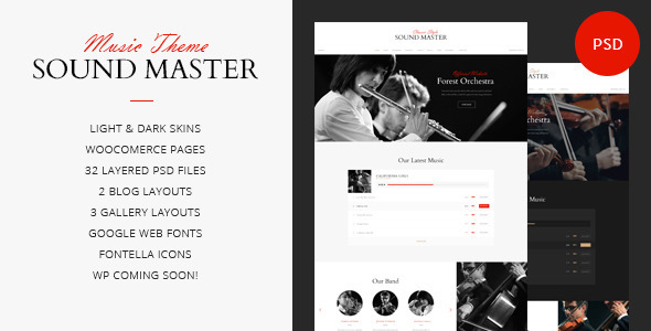 Sound Master Music Band Template