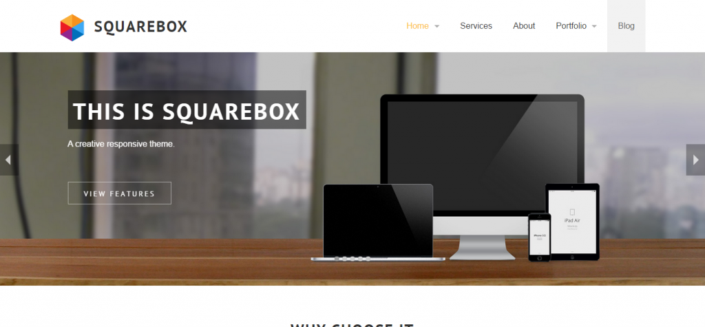 Squarebox Responsive Multi-Purpose Jekyll Theme
