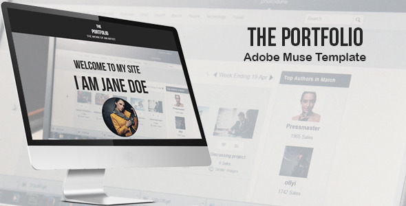 The Portfolio Creative Muse Template