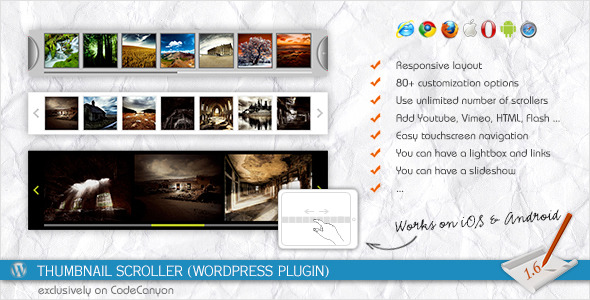 Thumbnail Scroller (WordPress Plugin)