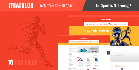 Triathlon Creative PSD Template
