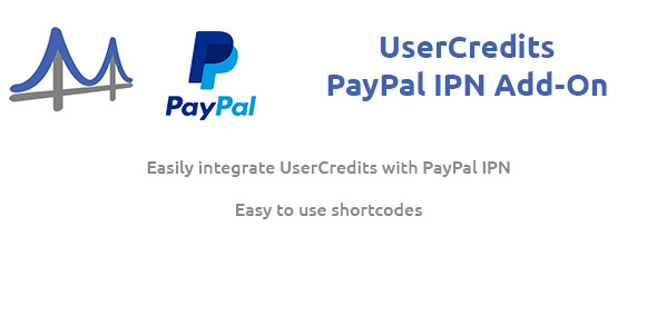 UserCredits for WordPress PayPal IPN Add-On