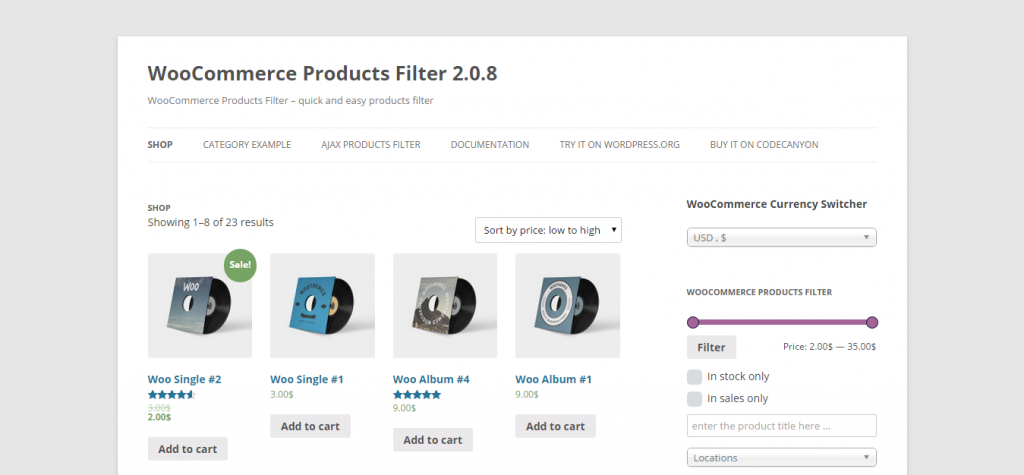 WOOF WooCommerce Products Filter