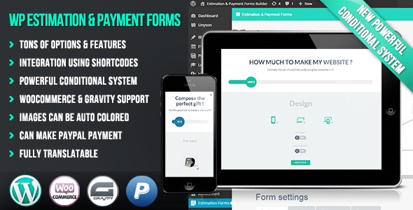 WP Estimation & Payment Forms Builder
