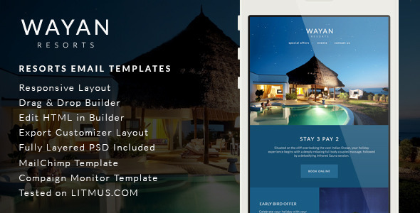 Wayan Resorts Email Templates Builder Access