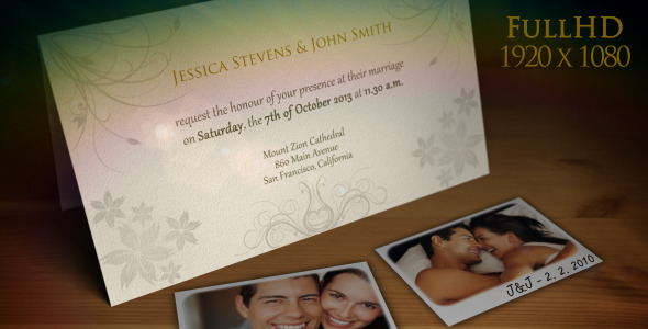 Wedding Invitation Wedding Announcement