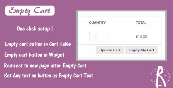 WooCommerce Empty Cart
