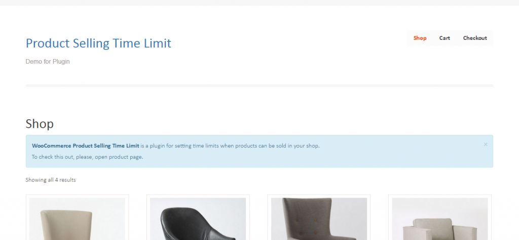 WooCommerce Product Selling Time Limit