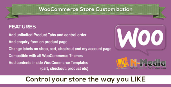 WooCommerce Store Customization