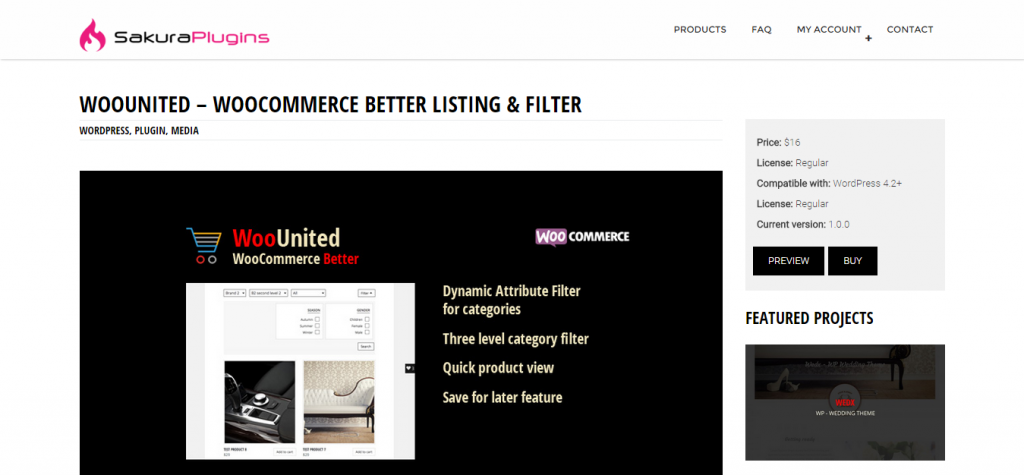 WooUnited WooCommerce Better Listing & Filter