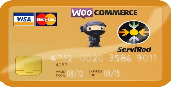 Woocommerce Servired Payment Gateway