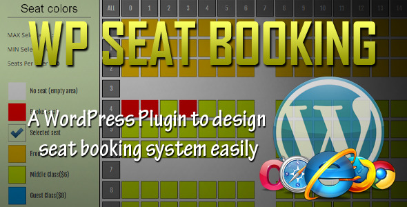 WordPress Seat Booking System