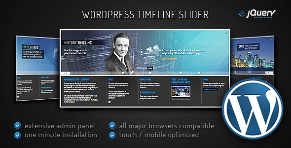 WordPress Timeline Slider