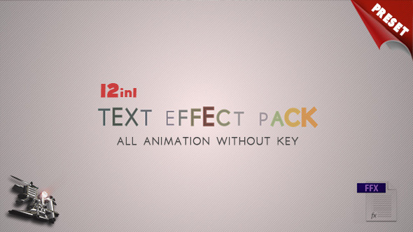 12 Text Fx Pack