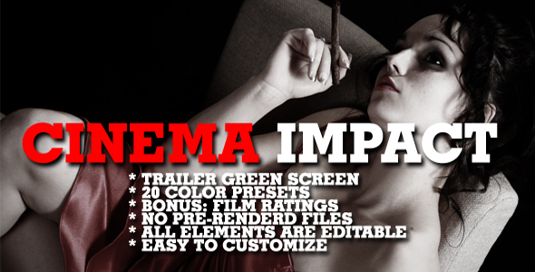 Cinema impact Color presets