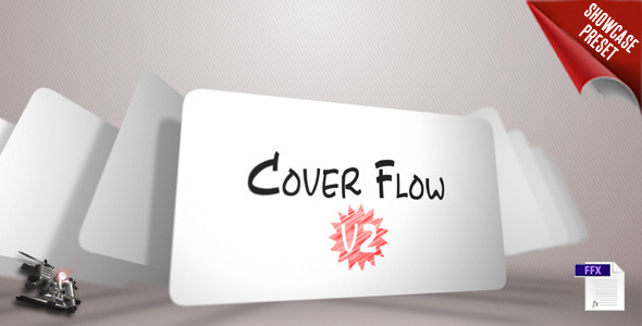 Cover Flow V2 (showcase preset)