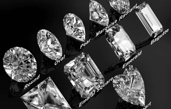 Diamonds all 11 cuts