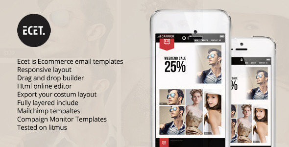 Ecet Multipurpose Email Template