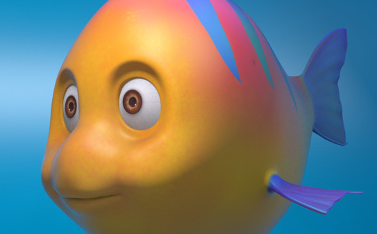 Fish Cartoon Model