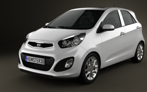 Kia Picanto (Morning) 5-door 2012