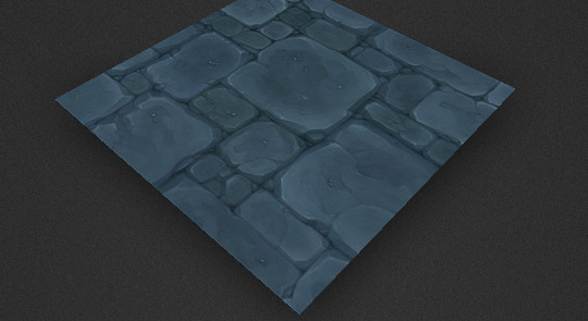 Low Poly Dungeon Floor Tile
