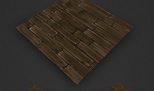 Low Poly Floor Boards