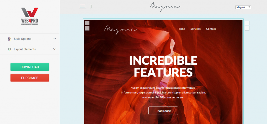 Magma Email Template EmailBuilder