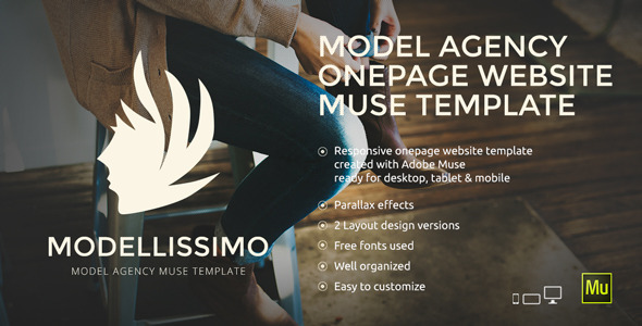 Modelissimo Model Agency Muse Template